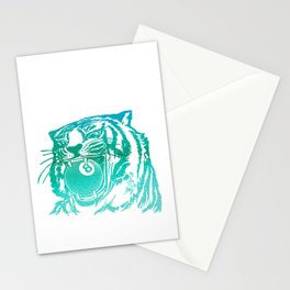 8 Ball Tiger Stationery Cards
