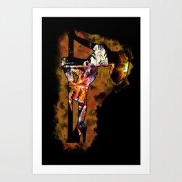 The Lap Dancer Art Print