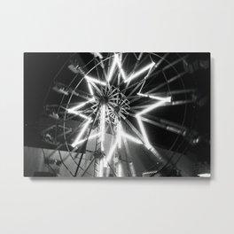 Estrella Difuminada Metal Print