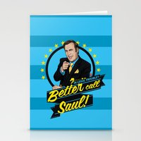 better call saul Stationery Cards featuring Better Call Saul by Akyanyme