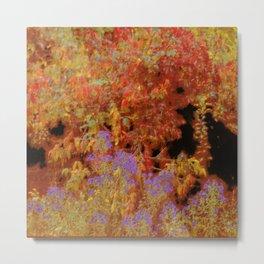Palette of Autumn Colors Metal Print