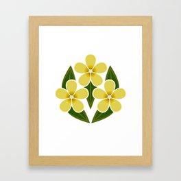 Yellow Jessamine Framed Art Print