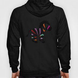 Colorful zebra Hoody