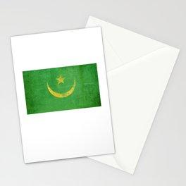 Mauritania Flag design | Mauritanian design Stationery Cards