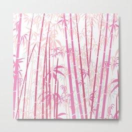 Bamboo 9 Metal Print