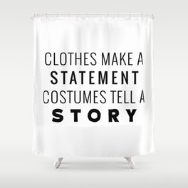 Halloween Story Shower Curtain