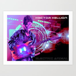 Hector Hellion - Electric Animal Art Print
