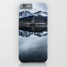 MONO LAKE WINTER iPhone Case