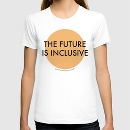 The Future Is Inclusive - Orange T-shirt