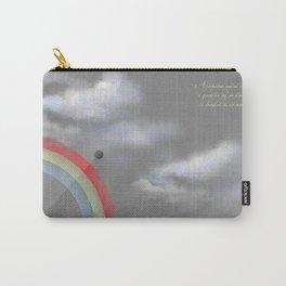 A quarter rainbow Carry-All Pouch