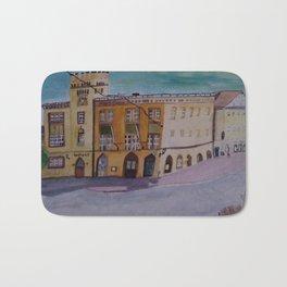 Rathaus Moosburg Bayern Bath Mat
