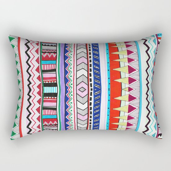 VIVID HUYANA Rectangular Pillow