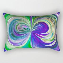 333 - Abstract Colour Orb Design Rectangular Pillow
