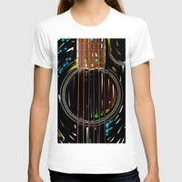 spanish T-shirts featuring Spanish Guitar by Carles Marsal