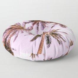 PASTEL PALM TREES no5 Floor Pillow