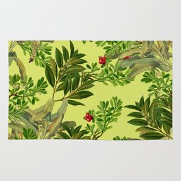 Leaves in Summer Rug