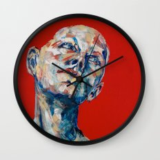 Red Hair Wall Clock