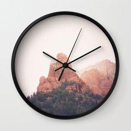 Sunrise in Sedona Wall Clock