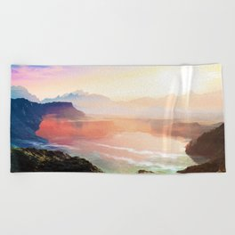Sunrise Grandeur #society6 #decor #buyart Beach Towel