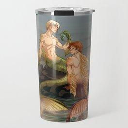 Mermen Travel Mug