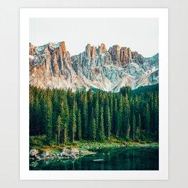 Far Far Away #nature #photography Art Print