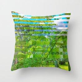 Landscape of My Heart (segment 1) Throw Pillow