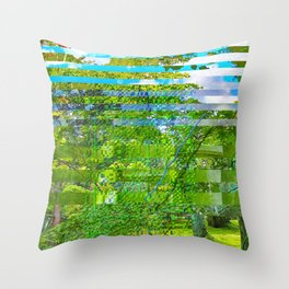 Landscape of My Heart (segment 1) Throw Pillow