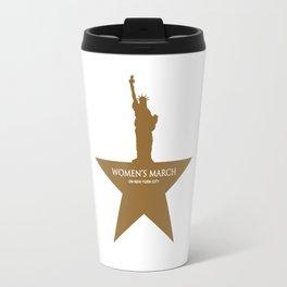 Womens March NYC 2018 Travel Mug