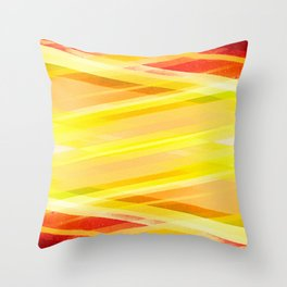 Turned on Brights Throw Pillow