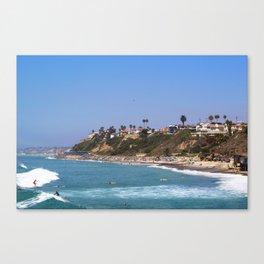 north beach, san clemente Canvas Print