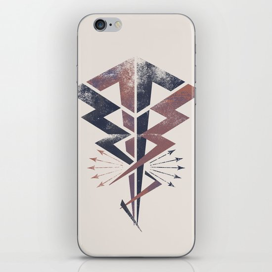 Lightning Bolt iPhone & iPod Skin
