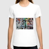 grafitti T-shirts featuring Layers by AntWoman