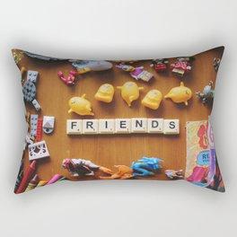 Friends Games Rectangular Pillow