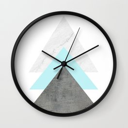 Arrows Collage Wall Clock