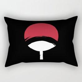 Uchiha Clan Logo Rectangular Pillow