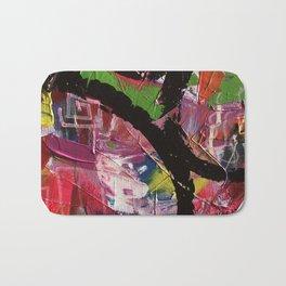 Whirl Abstract Art Bath Mat