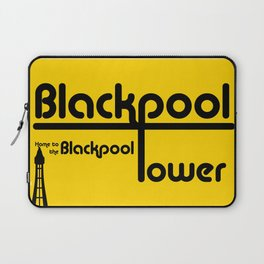 Blackpool Bauhaus Poster 1 Laptop Sleeve