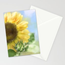 Sunny Sunflower Stationery Cards