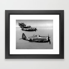 P-47 Thunderbolt Framed Art Print