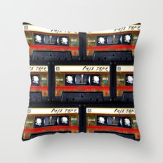 classic retro Gold mix cassette tape iPhone 4 4s 5 5c, ipod, ipad, tshirt, mugs and pillow case Throw Pillow