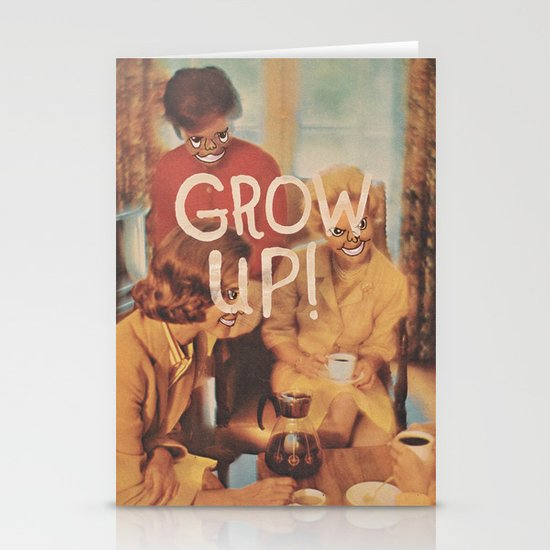 GROW UP! Stationery Cards