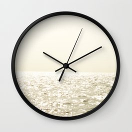 Sea and Sky Ombre Wall Clock
