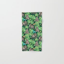 Gorillas in the Emerald Forest Hand & Bath Towel