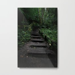 Surreal Magical Forest - Study II Metal Print
