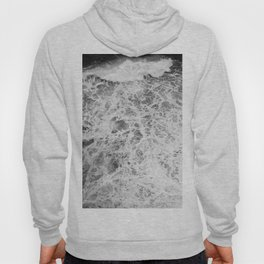 The Waves (Black and White) Hoody