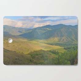 mountain pasture Cutting Board
