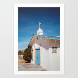 Desert Church II Art Print
