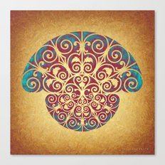 Medusa Barroca Canvas Print