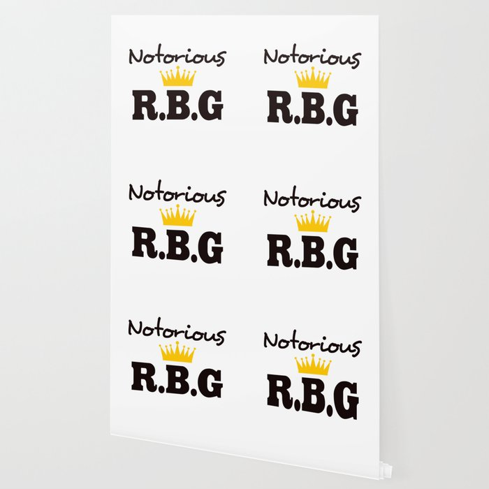 Notorious R.B.G Wallpaper by socoart