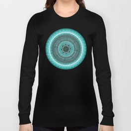 Knowing on Black Background Long Sleeve T-shirt